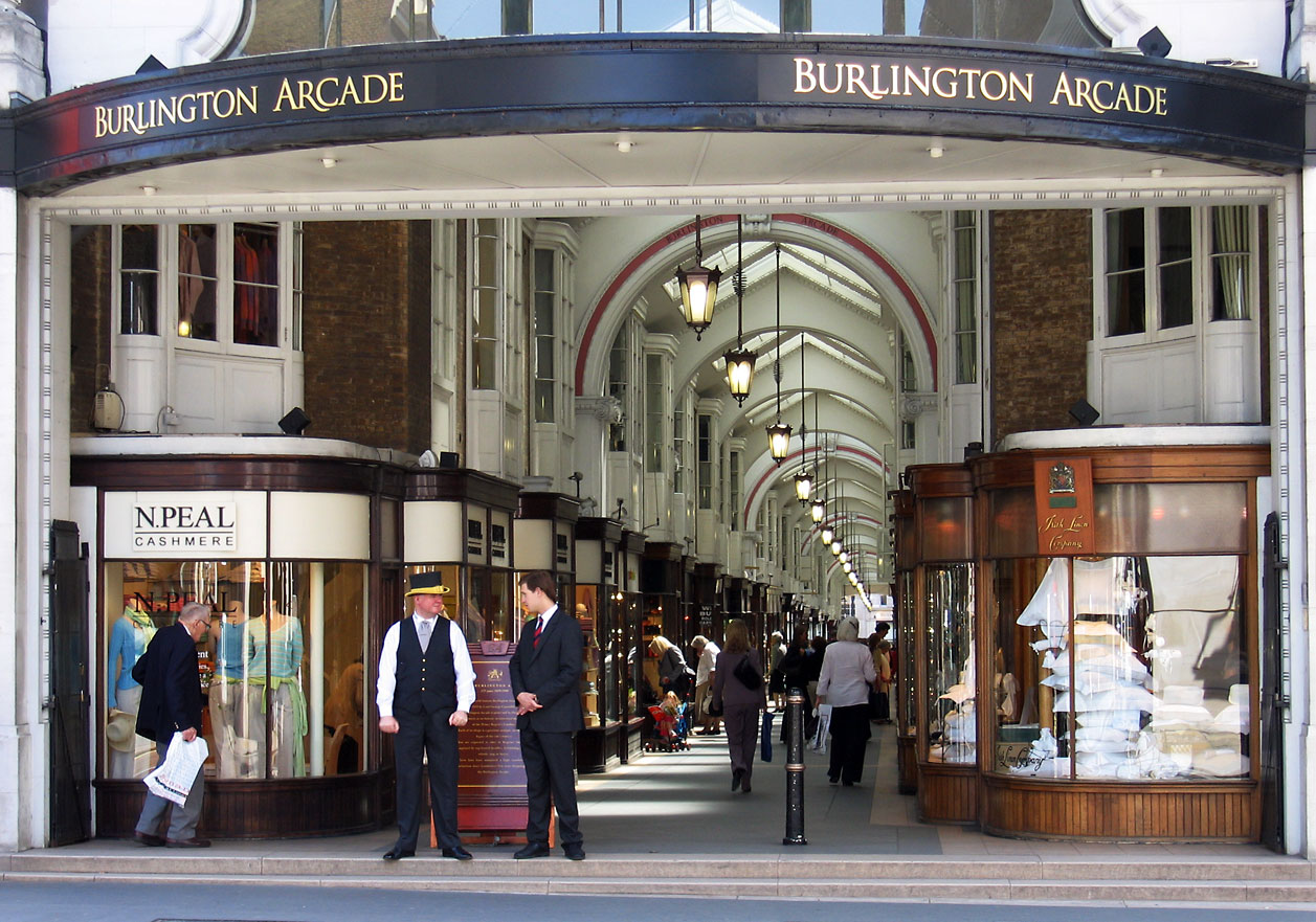 Burlington-Arcade- anh london