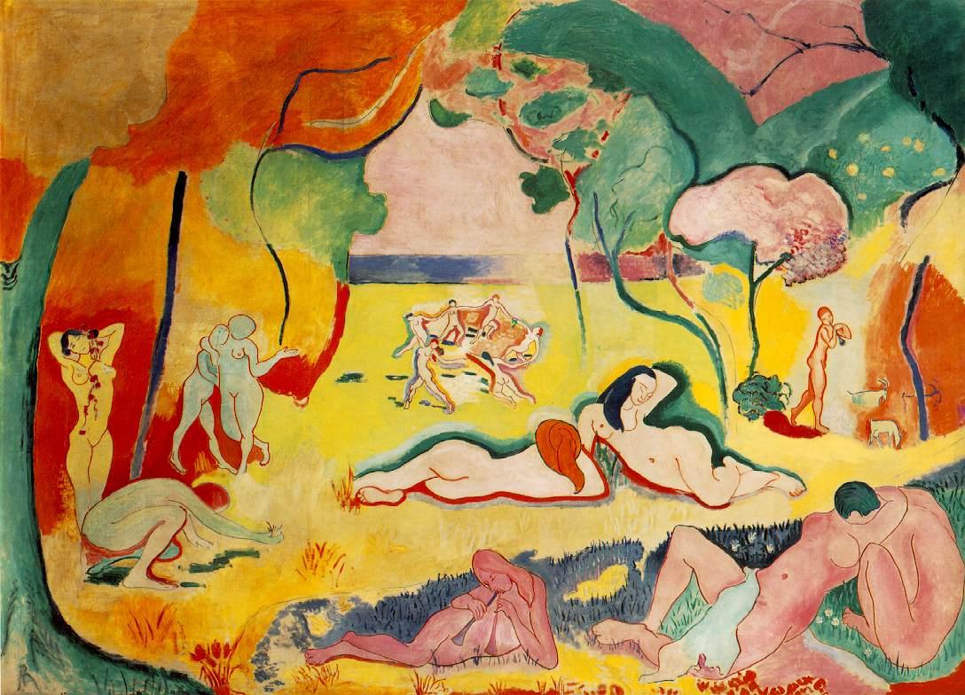 Bức tranh tại bảo tàng Matisse