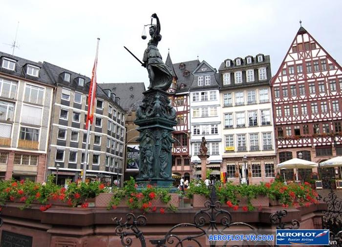 Quảng trường Romerberg - Frankfurt