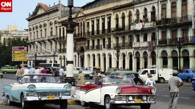 Chiêm ngưỡng những chiếc xe cổ ở Cuba