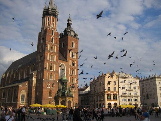 Vé máy bay đi Ba Lan