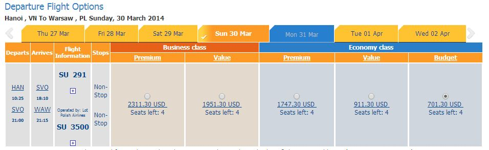 Vé máy bay giá rẻ đi Ba Lan