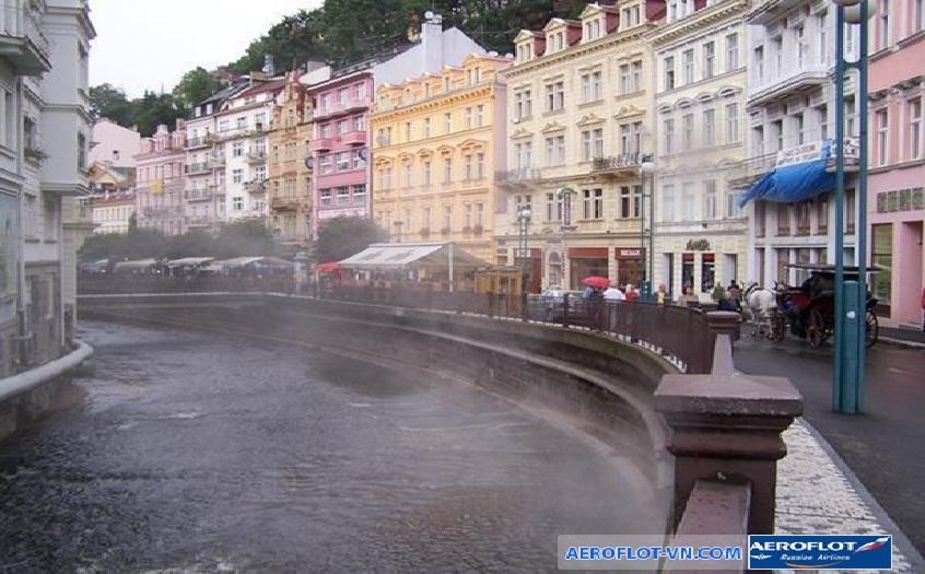 Suối nước nóng Tepla, Karlovy Vary