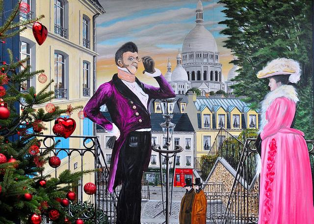 Lãng mạn với đồi Montmartre
