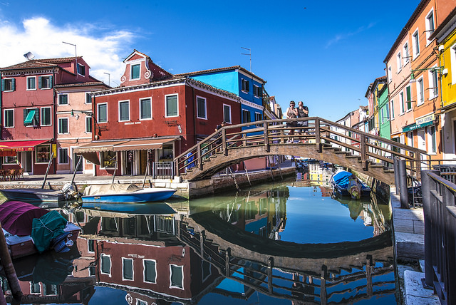 Hòn đảo Burano rực rỡ sắc màu