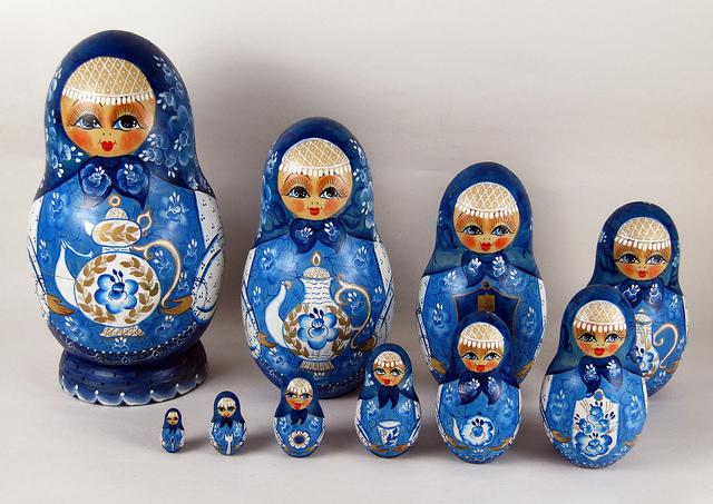 Búp bê Matryoshka - biểu tượng văn hóa Nga