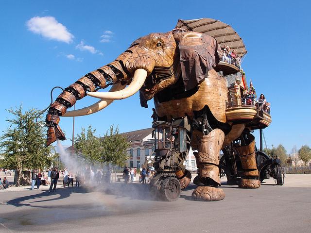 Công viên robot Les Machines de L'lle độc đáo