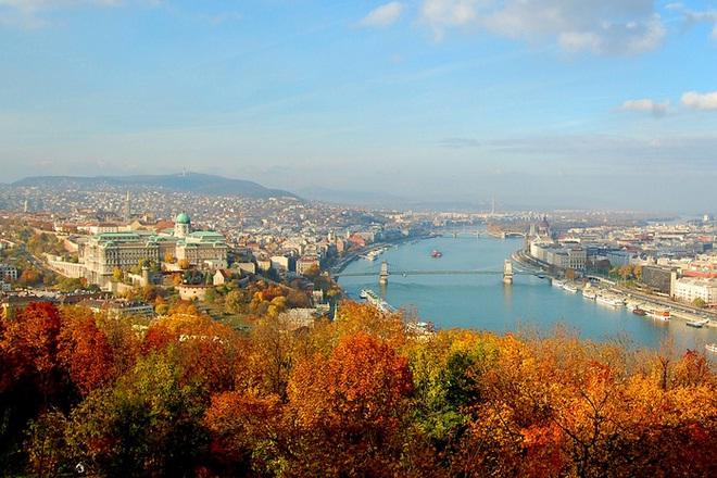 Mê mẩn mùa thu Budapest diệu kì