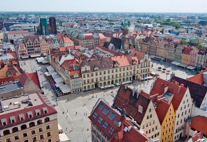 Du ngoạn thành phố Wroclaw duyên dáng