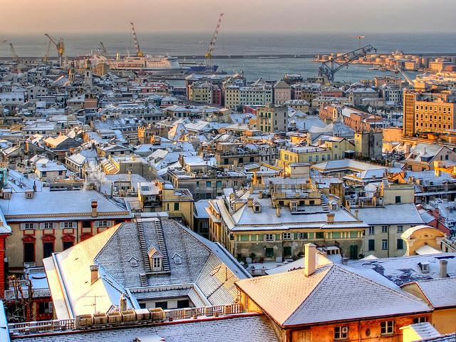 Sức hấp dẫn của thành phố cảng Genoa