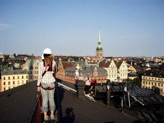 Du lịch trên mái nhà độc đáo ở Thụy Điển