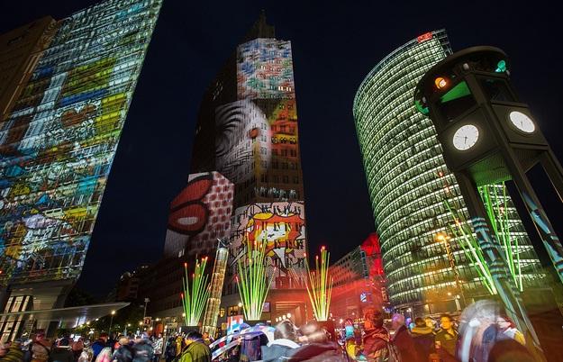 Lễ hội ánh sáng Berlin rực rỡ