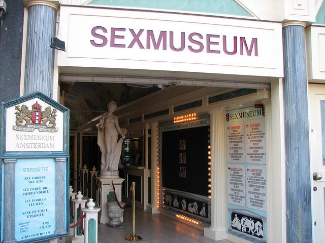 Choáng ngợp trước bảo tàng sex ở Amsterdam