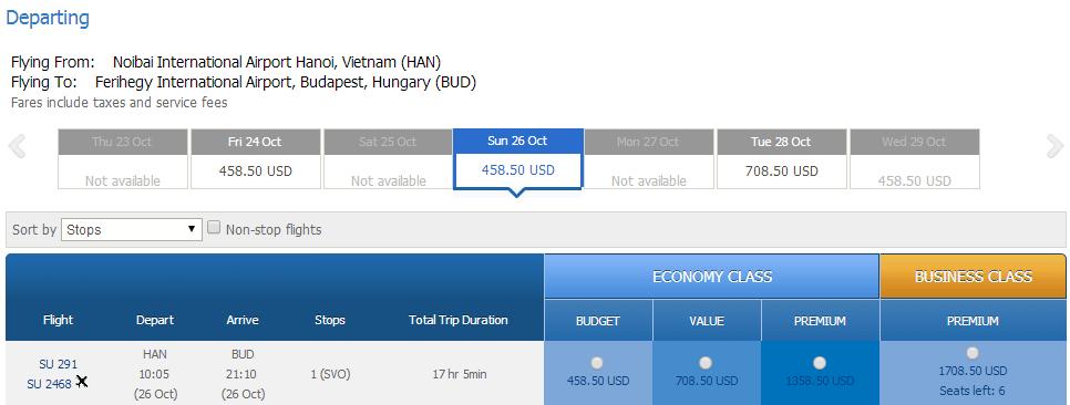Mua vé máy bay đi Hungary giá rẻ ở đâu?