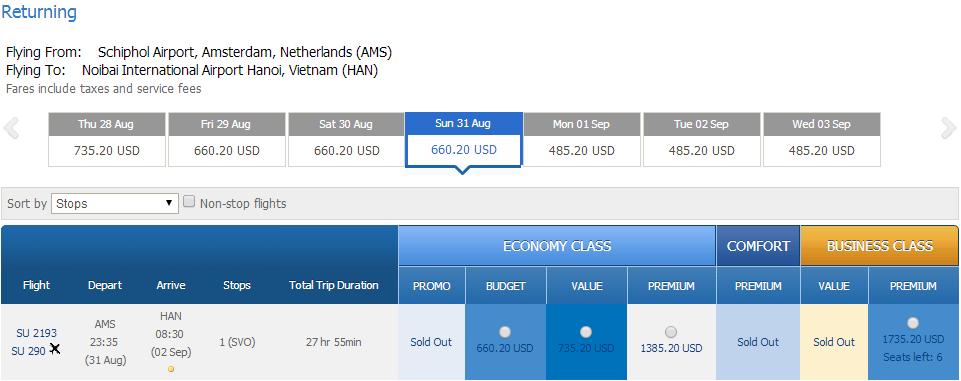 Mua vé máy bay đi Hà Lan giá rẻ ở đâu?