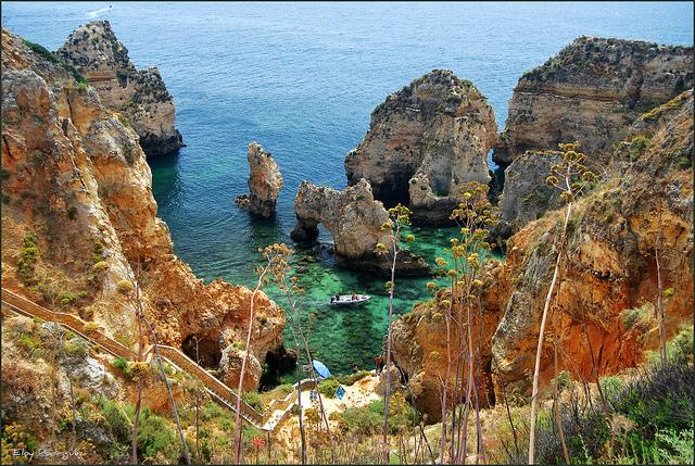 Lagos - thiên đường du lịch bên bờ biển Algarve