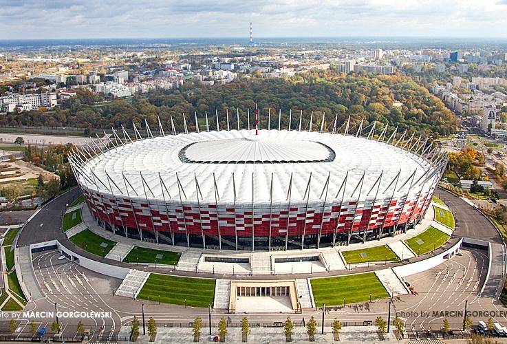 Chiêm ngưỡng sân vận động quốc gia Warsaw