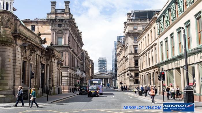 Glasgow nổi bật với vô số kiến trúc cổ ấn tượng