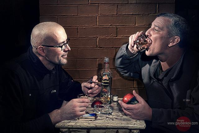 Rượu Vodka - một phần văn hóa Nga