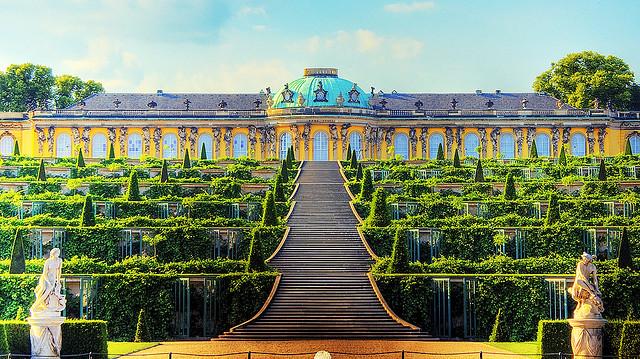 Tới Potsdam chiêm ngưỡng lâu đài Sanssouci