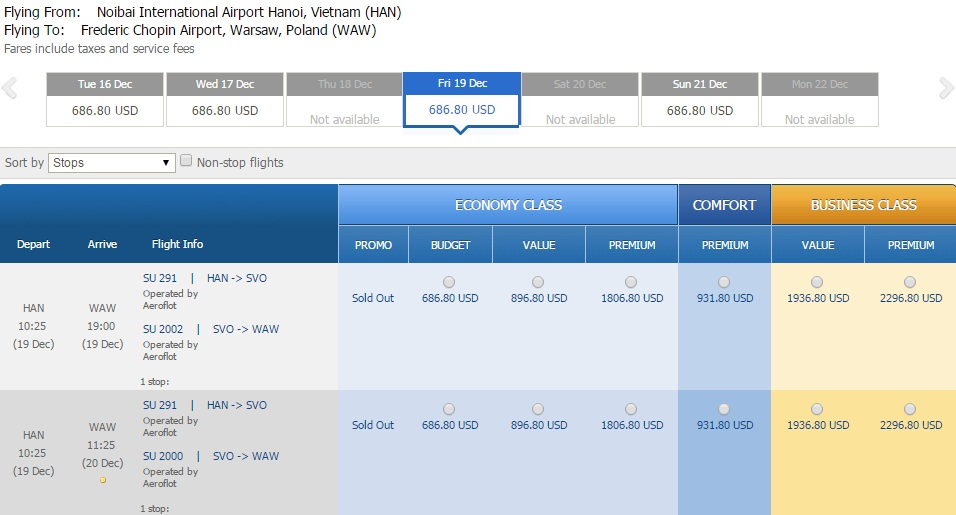 Mua vé máy bay đi Ba Lan giá rẻ nhất ở đâu?