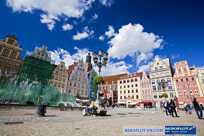 Ba Lan cổ kính và xinh đẹp
