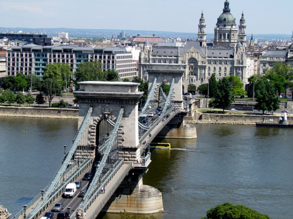Széchenyi Lánchíd - biểu tượng của Budapest