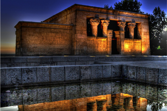 đền thờ Debod, Ai Cập