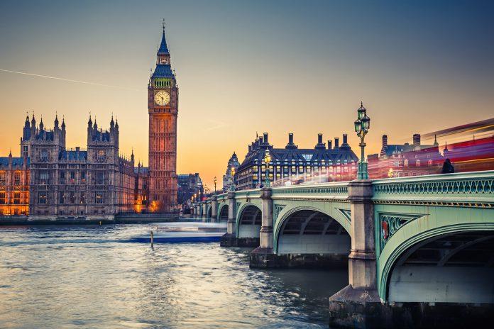 Một góc thành phố London