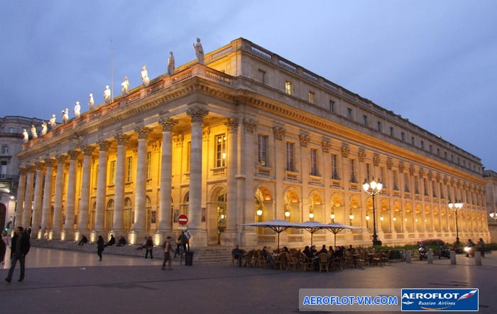 Nhà hát lớn Grand Theatre ở Bordeaux