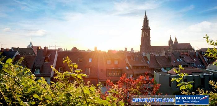Mùa hè nắng vàng rực rỡ ở Đức