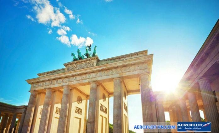 Cổng thành Brandenburg - biểu tượng của Đức