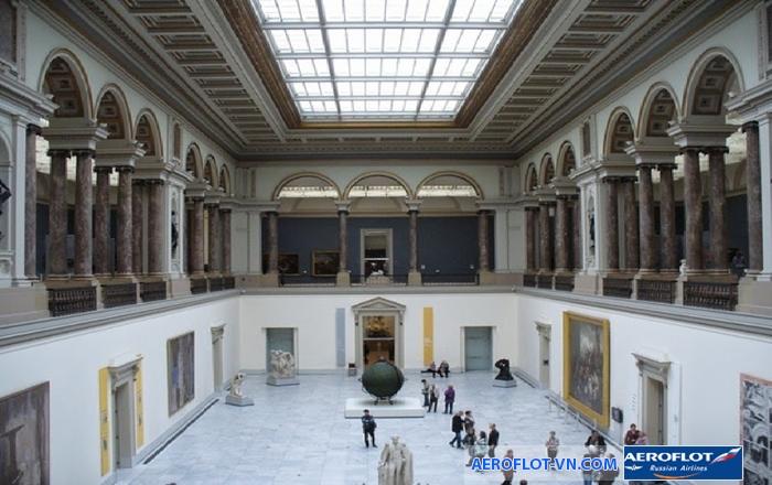 Bên trong bảo tàng Mỹ thuật Lyon trưng bày nhiều tác phẩm có giá trị