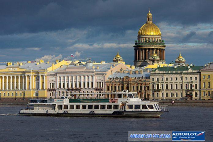 1 góc thành phố Saint Petersburg