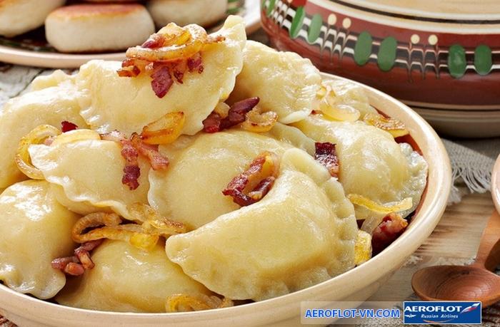 Varenyky - món ăn truyền thống của người Ukraine