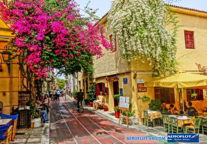 Trung tâm thành phố Athens