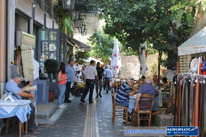 Thời gian lý tưởng đi du lịch Athens là từ tháng 5 đến tháng 6