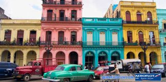 Một góc thành phố La Habana rực rỡ sắc màu