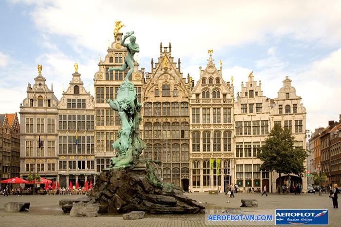 Antwerp nổi bật với những công trình kiến trúc ấn tượng