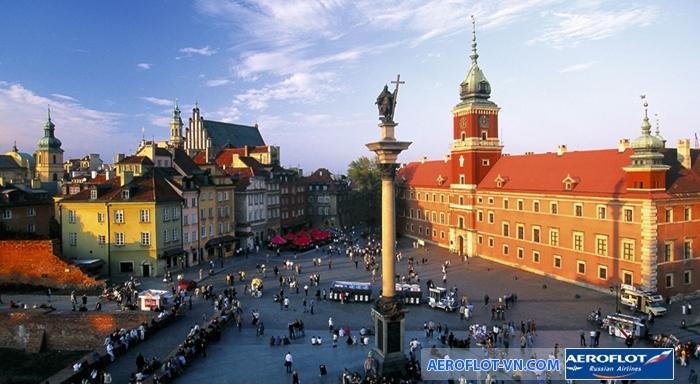 Thủ đô Warsaw của Ba Lan