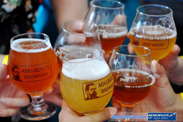 Nước Bỉ nổi tiếng với hơn 500 loại bia hương vị hấp dẫn