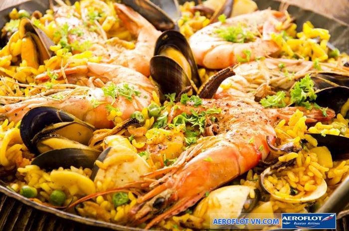 Paella Habana - món ăn đặc trưng của người Cuba