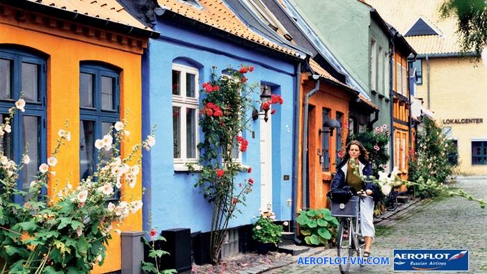 Thành phố Aarhus cổ kính là điểm hút khách của du lịch Đan Mạch