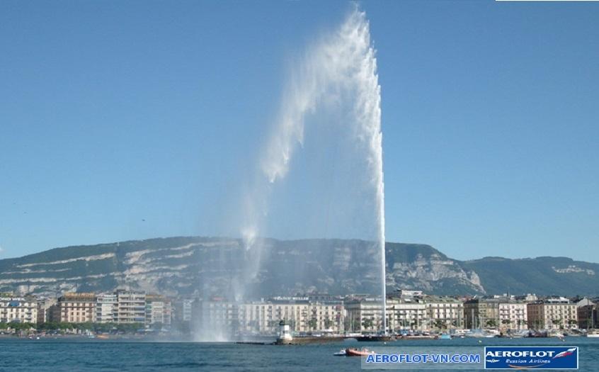 Đài phun nước Jet d'eau Jet