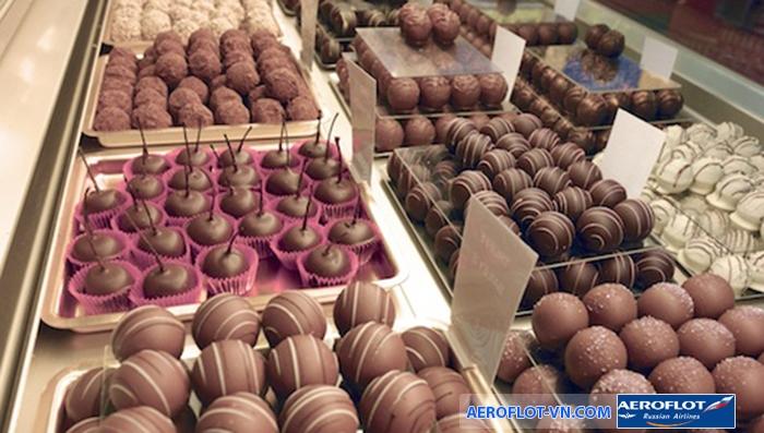 Geneva nổi tiếng với nhiều loại Socola ngọt ngon