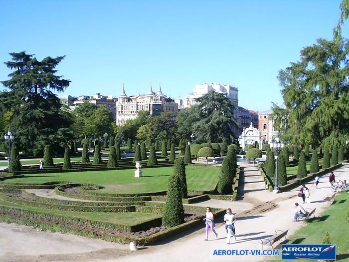 Vườn Parque del Buen Retiro