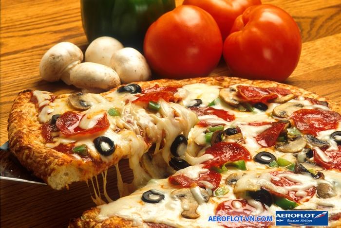 Pizza - món ăn truyền thống nổi bật của Ý