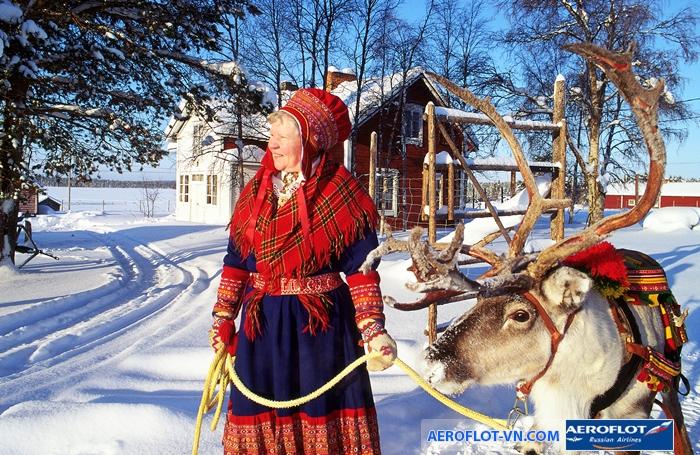 Lapland – vùng đất của ông già Noel hay nữ hoàng tuyết