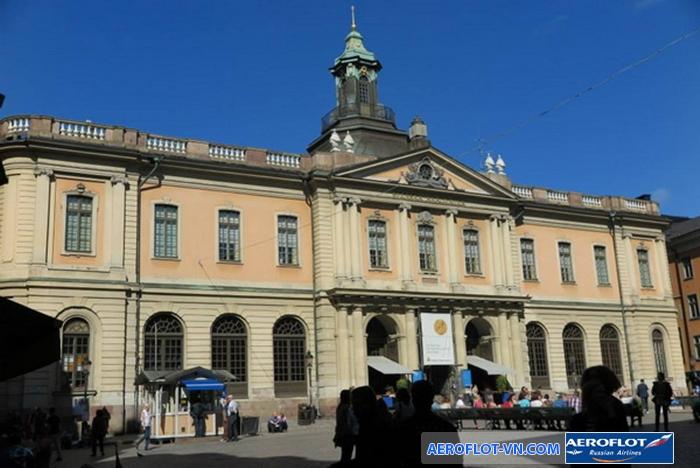 Bảo tàng Nobel ở Stockholm