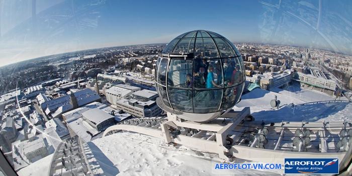 Trải nghiệm Skyview ở Stockholm